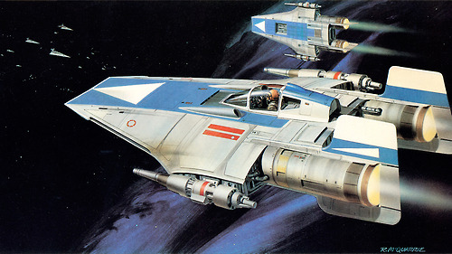 Ralph McQuarrie A-Wing