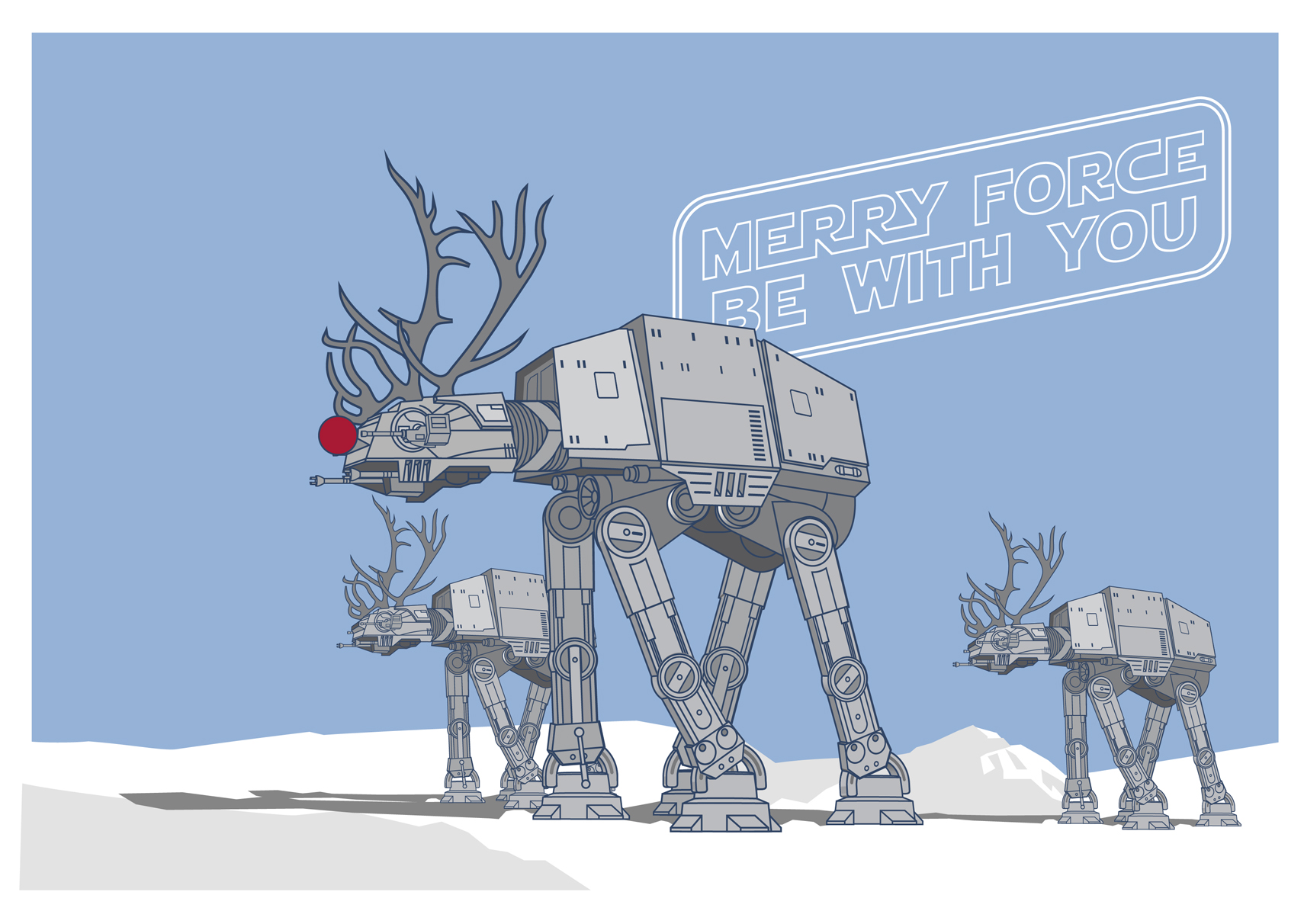 star-wars-Christmas-Card-at-at-merry-force