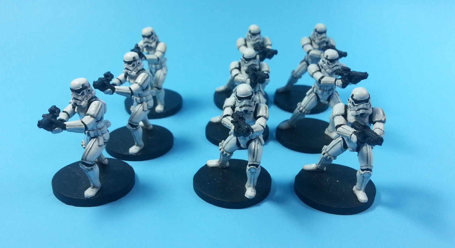 Imperial Assault Painted Storm Troopers