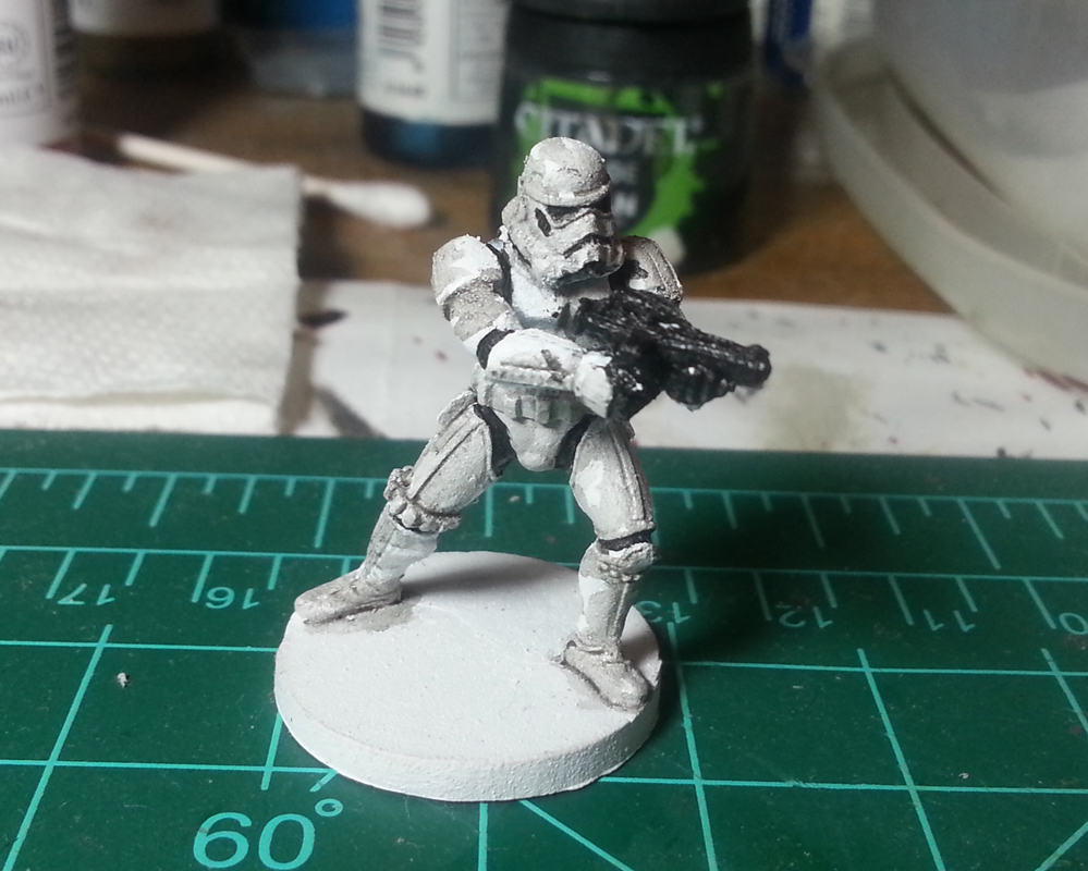 Imperial Assault Painted Storm Trooper