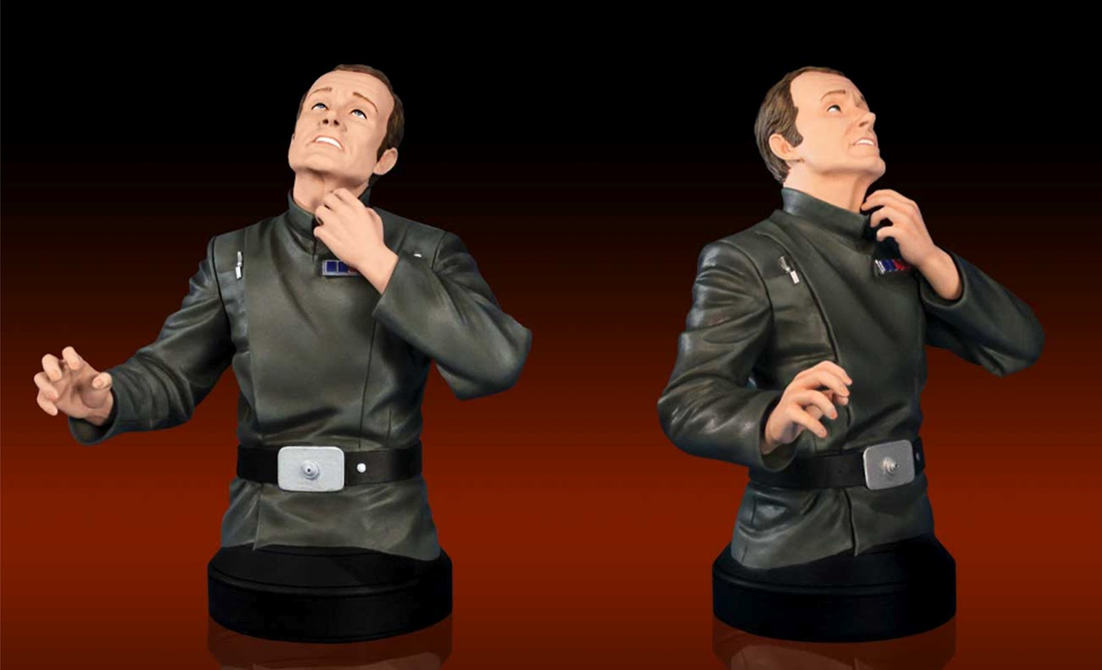 Gentle Giant Star Wars Admiral Motti Mini bust SDCc 2012 exclusive 3