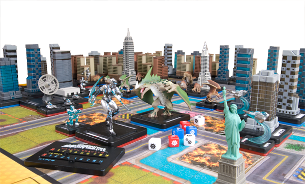 A game of monsterpocalypse
