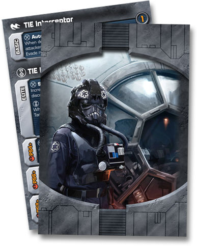 Imperial Pilot Cards
