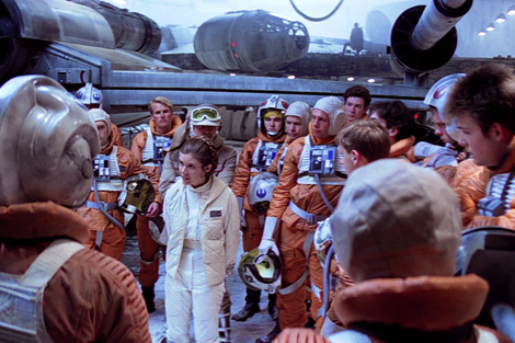 Empire Strikes Back - Leia's Hoth Briefing