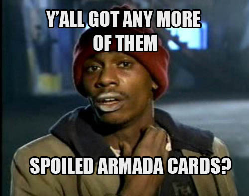 y'all got anymore of them Armada (impact FONT)