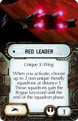Red Leader Card Template