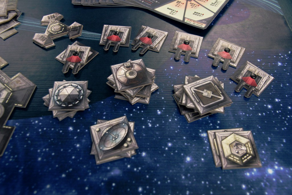 Heroes of the Aturi Cluster - Emplacement Tiles
