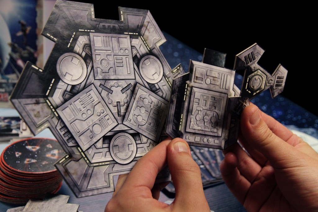 Heroes of the Aturi Cluster - Space Station Tiles