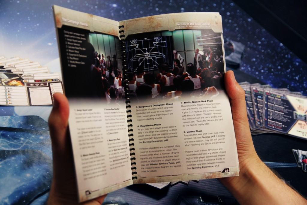 Heroes of the Aturi Cluster - Campaign Book Spread