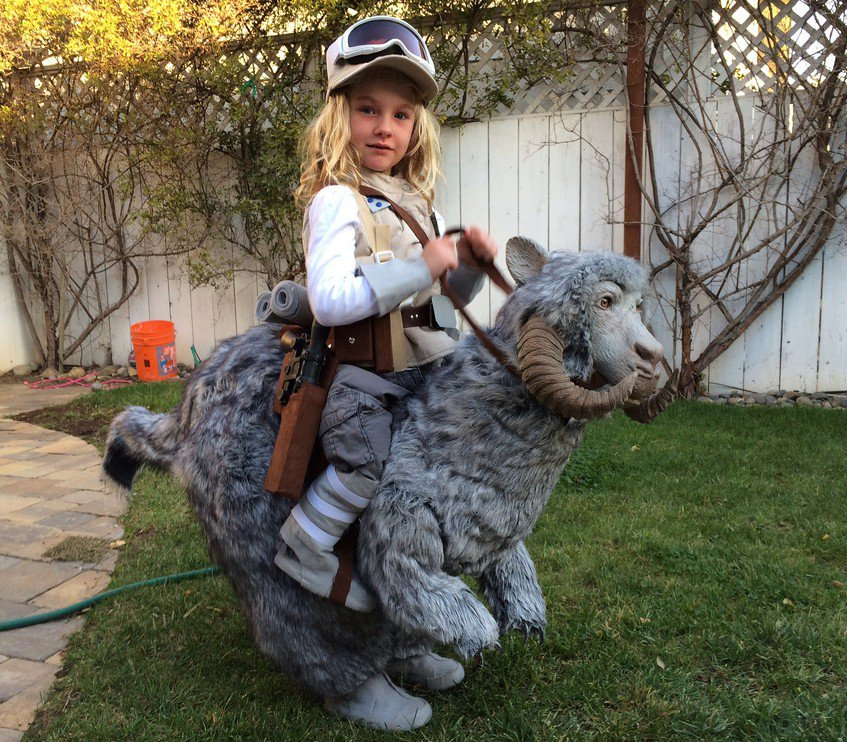 tauntaun1-girl costume cute