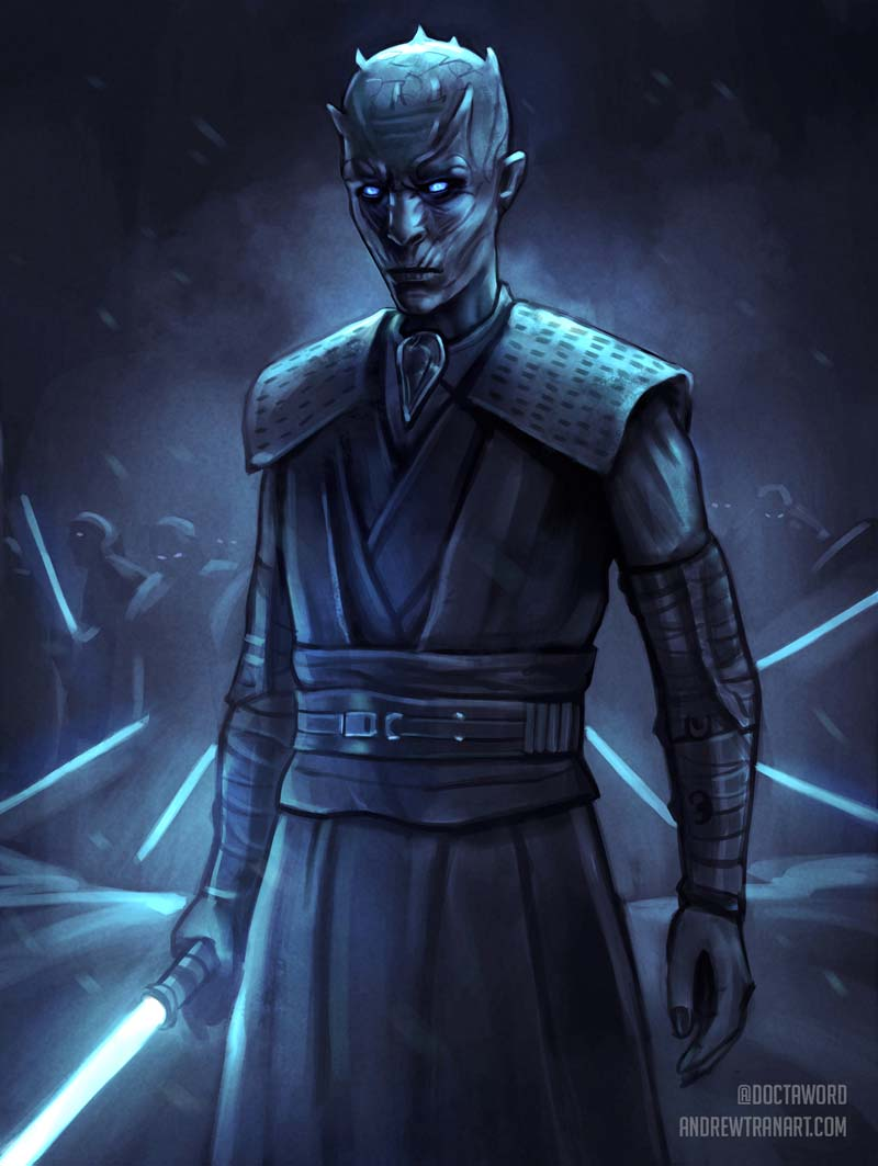 Game of Thrones White Walker King