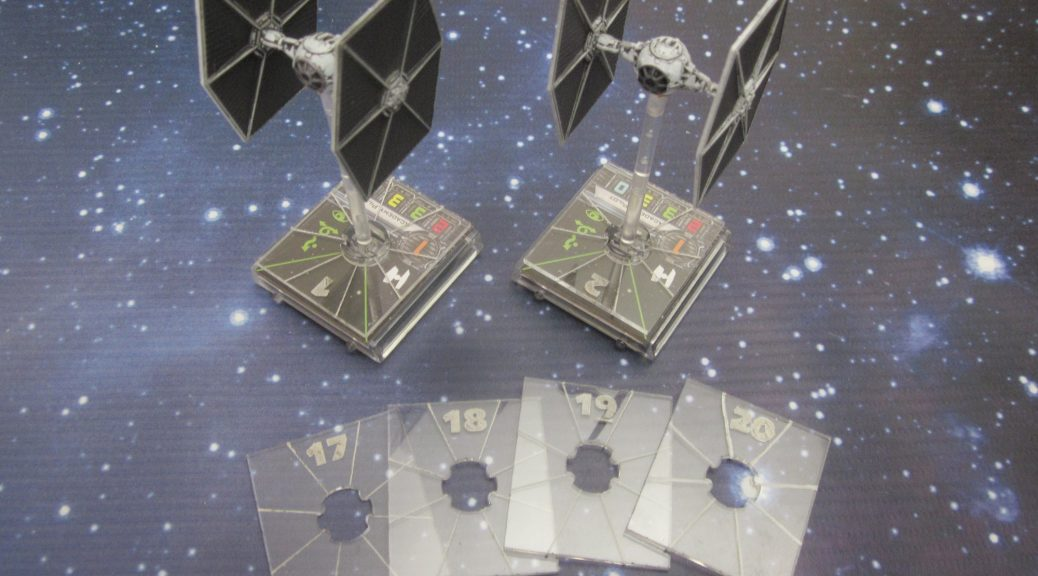 Acrylic base chits for Heroes of the Aturi Cluster